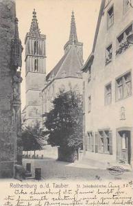 St. Jakobskirche, Rothenburg ob der Tauber, Bavaria, Germany, 1900-1910s