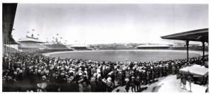 Panoramic Postcard, Cricket at The Sydney Cricket Ground, Australia, 12th