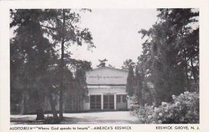 New Jersey Americas Keswick Auditorium Where God Speaks To Hearts