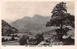 England The Langdale Valley and Pikes