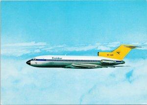 Condor Jet Shop Boeing 727 Freizeitfreuden Airplane Unused Postcard C5