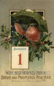 New Year Post Cards Postcard
