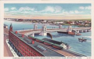 Connecticut Bridgeport Fairfield and Stratford Avenue Bridge Over Pequonock R...