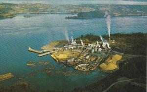 Canada Elk Falls Paper Mill Vancouver Island British Columbia