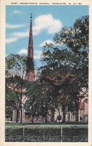 First Presbyterian Church, Charlotte, North Carolina, PU-1941