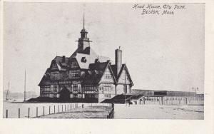 BOSTON, Massachusetts; Head House, City Point, 1901-07