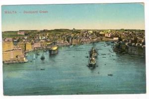Dock Yard Creek- Malta, Warship, 00-10s