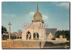 Modern Postcard The Colors Britain in Perros-Guirec (Cotes du Nord) Romanesqu...