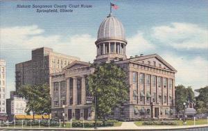 Illinois Springfield Historic Sangamon County Court House