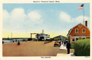 MA - Martha's Vineyard Island. The Islander Ferry