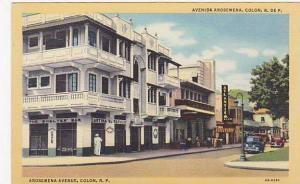Avenida Arosemena, Cantina El Refugio, Atlantico Club, Colon, Panama, 1930-...