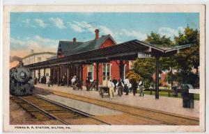Penna RR Station, Milton PA