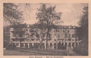 Hotel Alleesaal, Bad Lg. Schwalbach, Hesse, Germany, 1900-1910s