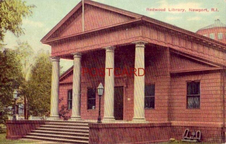 REDWOOD LIBRARY, NEWPORT, R. I.