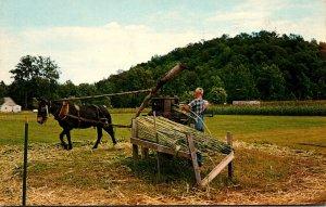 Indiana Nashville Brown County Sorghum Mill 1969