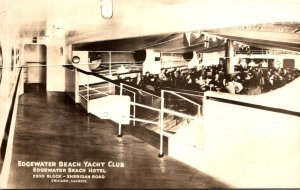 Illinois Chicago Edgewater Beach Hotel Edgewater Beach Yacht Club 1935