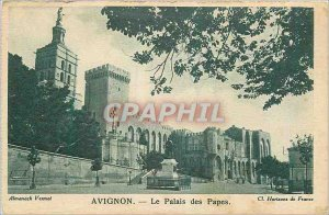 Postcard Old Avignon Popes' Palace