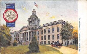 Florida State Capitol Tallahassee Tuck postcard
