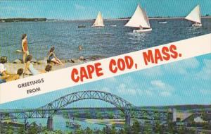 Massachusetts Greetings From Cape Cod With Sailing Along Sandy Shores & S...