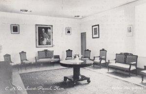 C.N.D. Saint Pascal , Kam. , Quebec , Canada , 1940s ; Parlor des pretres