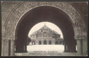 Memorial Church, Stanford University Cal. Edward H. Mitchell  204