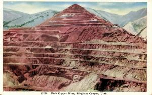 UT - Bingham Canyon. Utah Copper Mine (Mining)