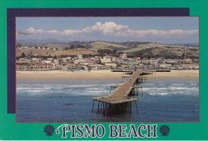 California Pismo Beach Showing Pier