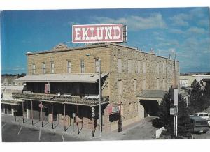 Clayton New Mexico Eklund Hotel Built 1892 2 Dining Rooms Saloon 24 Rooms