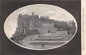The Castle from Esplanade Edinburgh Chateau Schloss