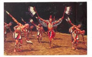 Cherokee Indian Eagle Dance, North Carolina, 40-60s