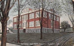 Seminary & Union School in Stamford, New York