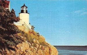 Bass Harbor Head, Maine USA Light House 1969