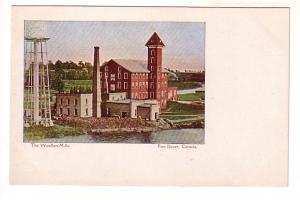 The Woollen Mills Factory, Port Dover, Ontario, Wide Border