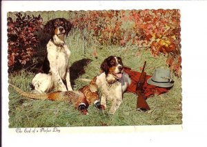 Dogs, Setters, Hunting Rifles, Birds The End of a Perfect Day