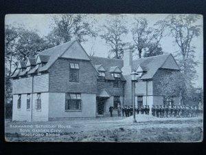 WOODFORD BRIDGE Dr. Barnardo's Saturday House BOYS GARDEN CUTY c1914 Postcard