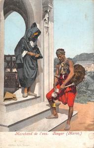 Morocco Tangier, Marchand de l'eau, Tanger (Maroc) Native Men