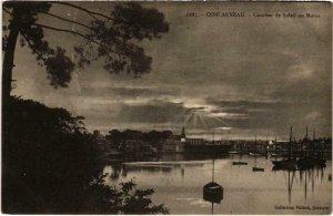 CPA CONCARNEAU - Coucher de Soleil au Moros (985236)