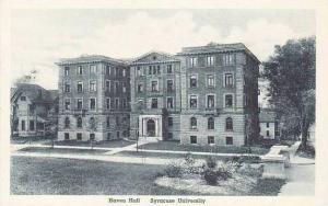 New York Syracuse University Haven Hall Artvue