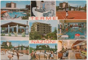 HOTEL TERME NAZIONI, Montegrotto Terme, Italy, used Postcard