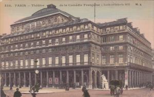 Theatre De La Comedie Francaise, PARIS, France, 1900-1910s