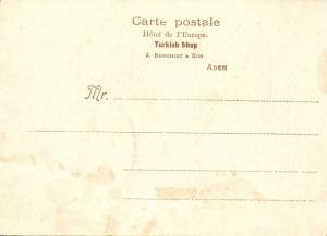 yemen, ADEN, Maalah Village (1899) Court Card