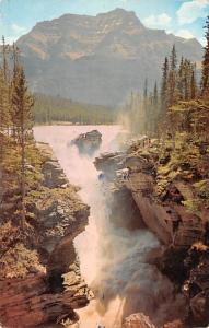 Alberta United Kingdom, Great Britain, England Athabasca Falls, Jasper Nation...