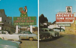 Virginia Roanoke Archie's Lobster House & Town House Restaurants sk7275