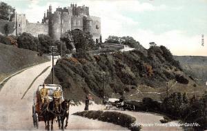 England Dover Castle Constable's Tower, carriage, coach