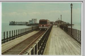 Essex; Southend On Sea, Pier Train Leaving Station PPC, Unused, Lynn Tait 1986