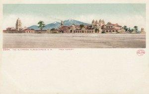 ALBUQUERQUE, New Mexico, 1901-07 ; The Alvarado