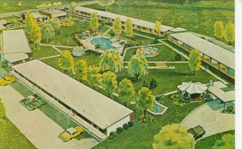 PENTICTON , B.C. , Canada , 1950-60s ; Pilgrim House Motor Hotel