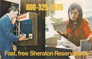 Fast , Free SHERATON (Hotel) reservations , 1960s