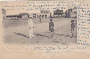 Djibouti , 1890s ; Place Menelik