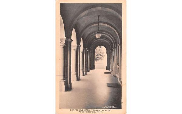 Chapel Cloister Poughkeepsie, New York Postcard